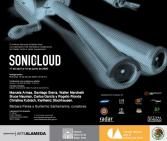 SONI(C)CLOUD. Interactive Sound installation. 30x10m. Laboratorio Arte Alameda Museum. Mexico DF. 2008