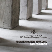 IRREALIDAD, ORIGEN, COLAPSO. REGISTERING NEW YORK. 2010. Catalogue